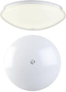 Applique/plafonnier à LED avec détecteur de mouvement PIR 12 W / Ø 26cm / blanc chaud