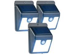 Applique solaire à LED avec capteur PIR et fonction veilleuse WL-210.solar (x3)