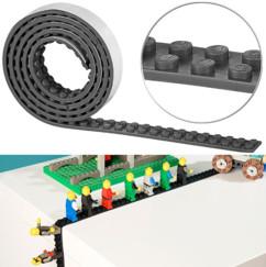 Bande adhésive 1m pour briques de construction - Noir