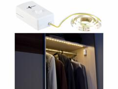 Bande LED à piles 160 lm / 60 cm blanc lumière du jour