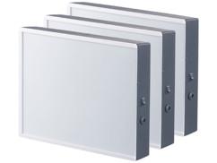 Set de 3 boîte d'affichage lumineuses pour films transparents et feuilles A4