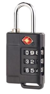 Cadenas TSA pour valise avec code 3 chiffres - x3