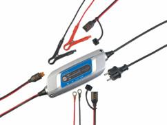 Chargeur de batterie 12V/4A avec 8 niveaux de chargement (reconditionné)