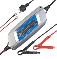 Chargeur de batterie 12V/4A avec 8 niveaux de chargement & entretien