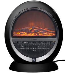 Cheminée céramique design 1500 W LV-350.fire - Noir
