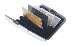 Étui de protection RFID en aluminium pour jusqu'à 6 cartes
