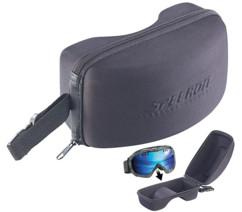 étui rigide avec dragonne pour masque de ski snowboard speeron