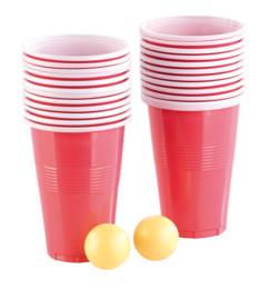 Jeu à boire avec 2 balles et 24gobelets