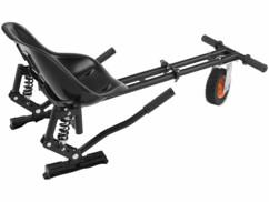 kart adaptatif pour gyropode hoverboard avec amortisseurs arrière et siège bacquet
