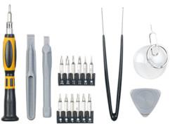 kit 20 outils de precision pour reparation telephone smartphone iphone changer batterie ecran
