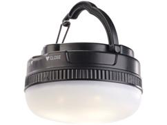 petite lampe led lanterne de camping tente avec variateur fonctionnement piles luminea