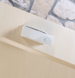 Lampe de porte sans fil à LED avec détecteur - 50 lm - Blanc