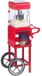 """Machine à pop-corn """"Cinéma"""" - Avec chariot rétro"""