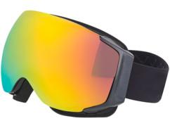 Masque de ski antibuée sans cadre avec 2 écrans