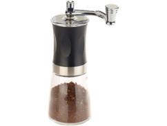 Moulin à café manuel avec broyeur en céramique réglable en continu