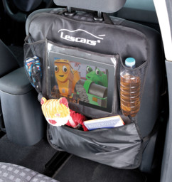 """2 organiseurs universels pour siège de voiture avec compartiment tablette 10"""""""