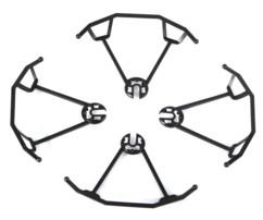 Pack 4 protections d'hélices pour quadricoptère GH-4.cam