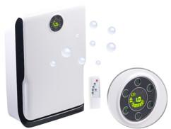purificateur d'air avec ioniseur UV pour air pur mauvaises odeurs pollution pollens allergies germes bacteries fumee cigarette