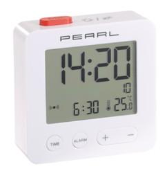 Réveil de voyage radio-piloté avec thermomètre
