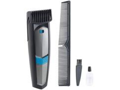 tondeuse electrique pour barbe et cheveux avec peigne brossette et huile d'entretien sichler beauty