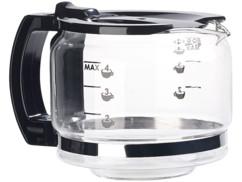 verseur 600ml en verre de rechange pour cafetiere machine a café rosenstein 600 ml