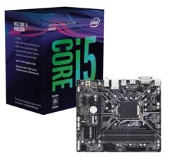 Kit Carte Mère Gigabyte Z370M DS3 et processeur Intel Core i5 8400