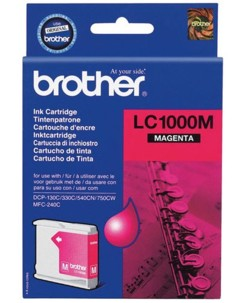 Cartouche originale Brother ''LC1000M''