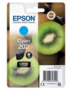 Cartouche originale Epson N°202 Kiwi Série - Cyan