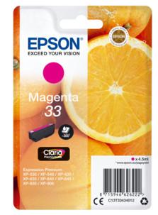 Cartouche originale Epson N°33 Orange Série - Magenta