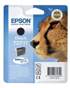 Cartouche originale Epson Guépard Série T071140 - Noir