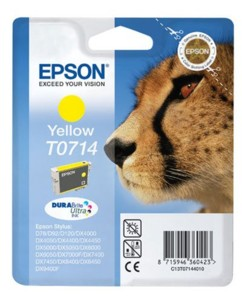 Cartouche originale Epson T071440 - Jaune