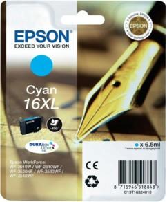 Cartouche originale Epson ''T163240'' N°16XL Stylo plume cyan