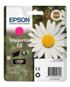Cartouche originale Epson ''T180340'' N°18 Pâquerette magenta