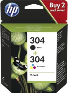Cartouche originale HP ''3JB05A'' N° 304 - Pack