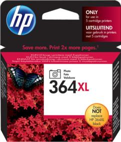 Cartouche originale HP N°364  XL photo CB322EE - Noir