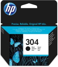 Cartouche originale HP ''N9K06AE'' N° 304 - Noir
