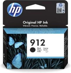 Cartouche originale HP N°912 3YL80AE avec encre noire.