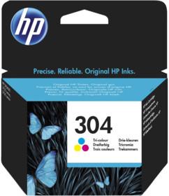 Cartouche originale HP ''N9K05AE'' N° 304 - Couleur