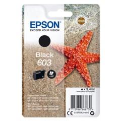 Cartouche originale Epson série 603 T03 couleur noir.