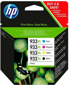 Cartouches originales HP N°932-933 XL C2P42AE - Pack