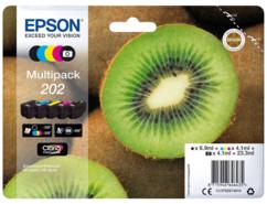 pack de 6 cartouches epson 202 pour  expression xp6000 xp6005