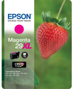Cartouches originales Epson ''T2993'' Fraise Série n°29 XL - Magenta