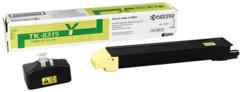 Toner Jaune TK-8315Y pour imprimantes Kyocera TASKalfa