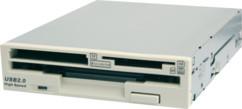 Combo lecteur de disquette / carte mémoire
