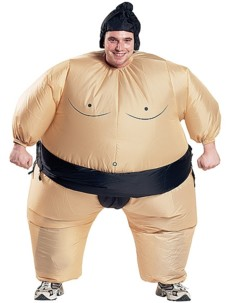 Costume gonflable ''Sumo''