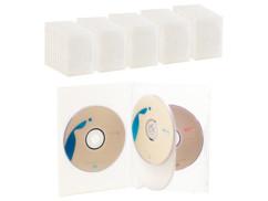 50 boîtiers DVD - 4 DVD - Transparent