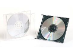 50 boîtiers CD fins