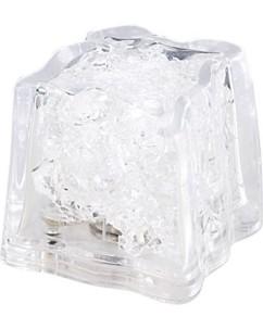 10 glaçons lumineux à LED