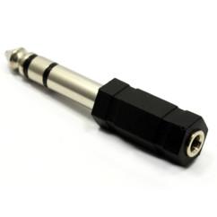 Adaptateur jack femelle 3,5 mm vers mâle 6,35 mm