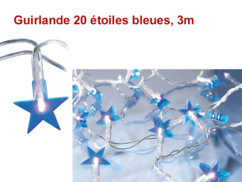 Guirlande lumineuse ''Étoiles''